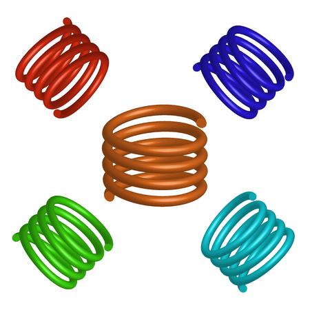 coil springs: Spring Illustration