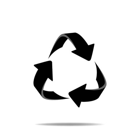 recycles: Recycles Logo Illustration