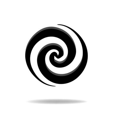 green swirl: Swirl Icon