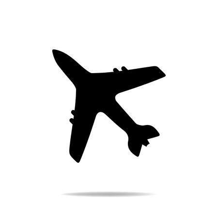 비행기 아이콘 일러스트