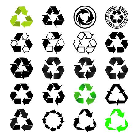 Recycle icon Set Stock fotó - 37531611