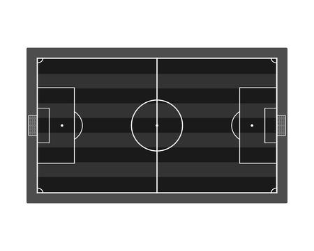 soccer field: Soccer field