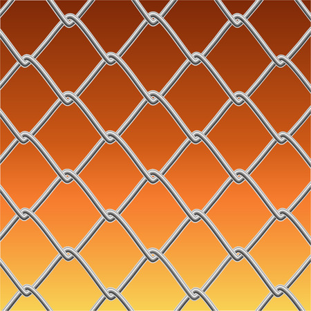 prison system: wire fence
