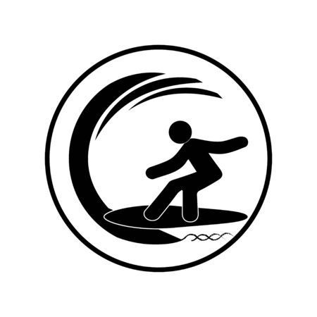 man surfing on the ocean