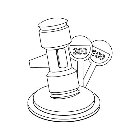 auction gavel: Auction Gavel Illustration