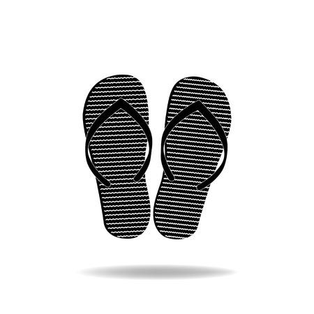 sandal: sandalia