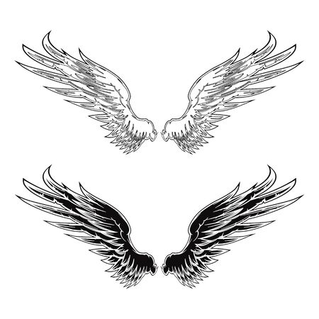 tattoo wings: Wing