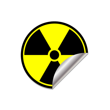 radioactive symbol: Radioactive symbol