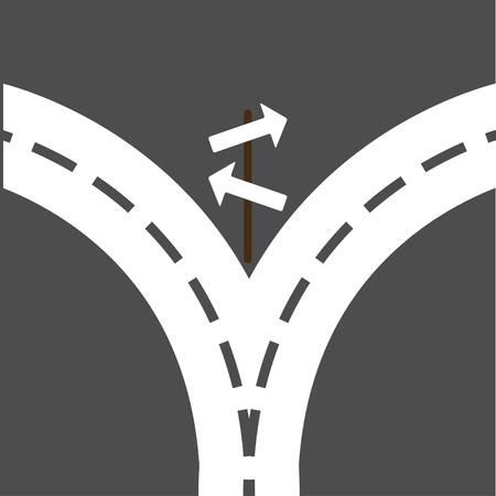 crossroads: crossroads Illustration