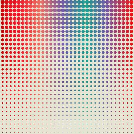 vector raster background: halftone dots background Illustration