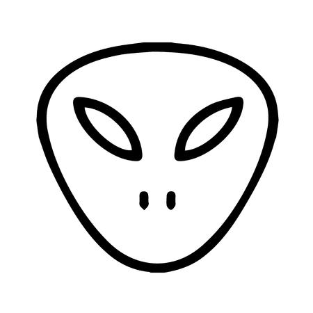 invader: Alien Icon