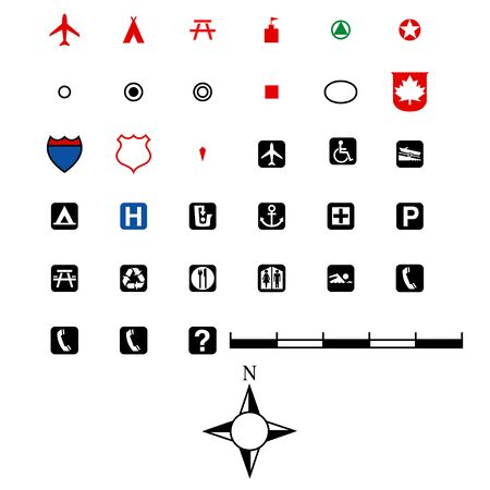 contry: Map Icon Set
