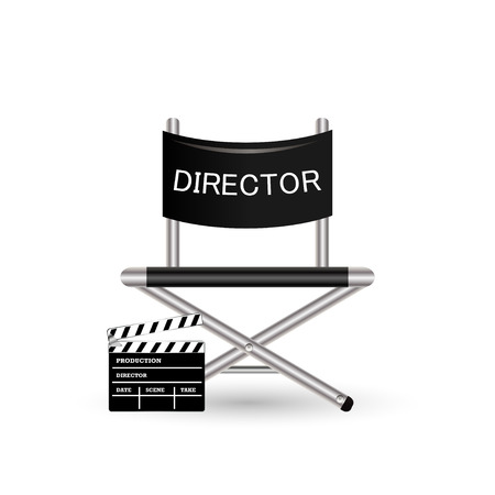 directors: Directors chair Illustration