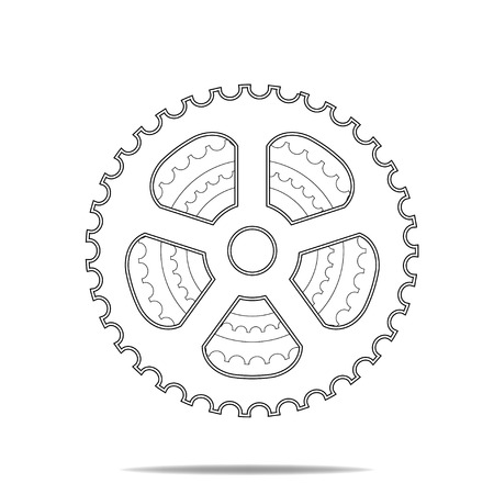 sprocket: Bicycle Sprocket Symbol