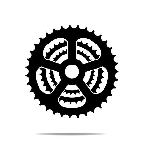 Bicycle Sprocket Symbol