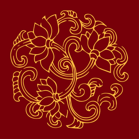 lotus background Vector
