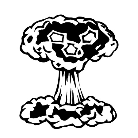 nuclear explosion: Nuclear explosion Illustration