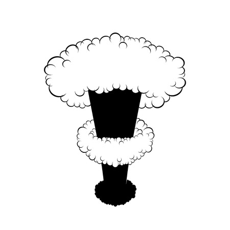 atomic bomb: Nuclear explosion Illustration