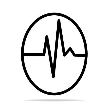 cardiograph: Pulse Icon