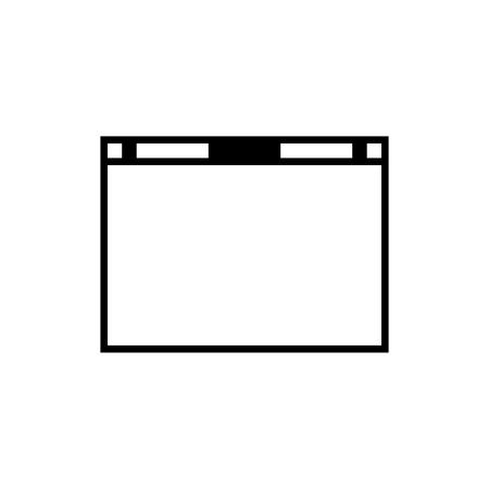 webpage: Webpage Symbol