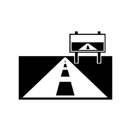 Road Symbol Vector