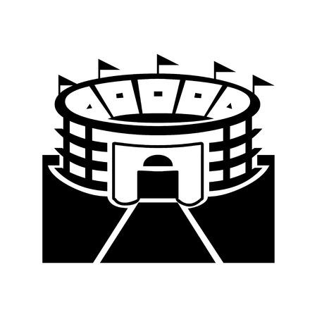 path pathway: Stadium Symbol