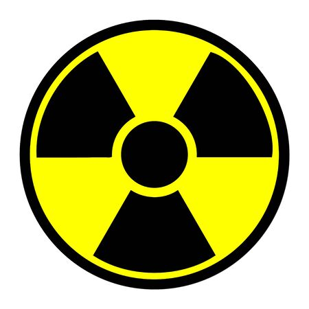 radiacion: s�mbolo de la radiaci�n