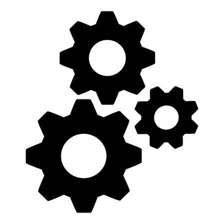 GearS Symbol Ilustracja