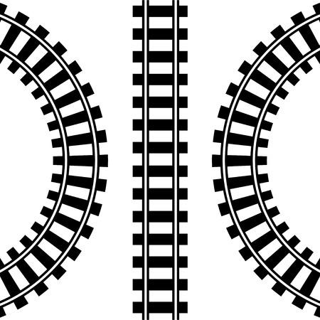 기차 트랙 스톡 콘텐츠 - 41012954