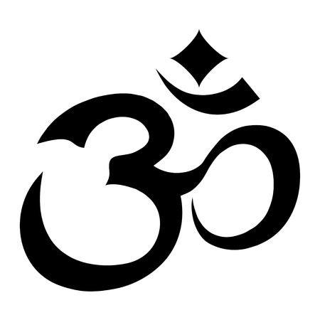 Om Aum Symbol Illustration
