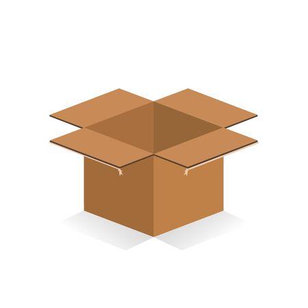 packer: Box Icon Illustration