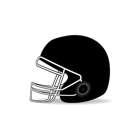 picked: American football helmet.