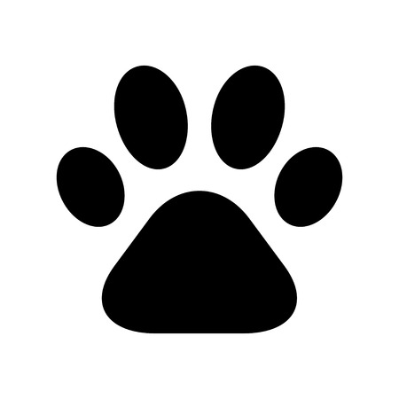 Paw Print Stock Illustratie