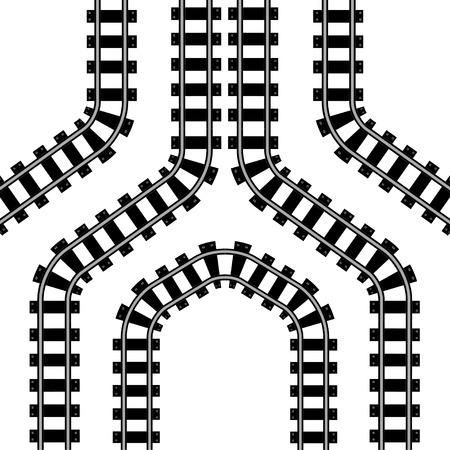 Symbool van de spoorweg