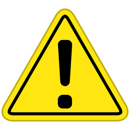 Warning Symbol Illustration