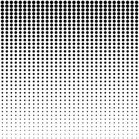 halftone dots background Иллюстрация