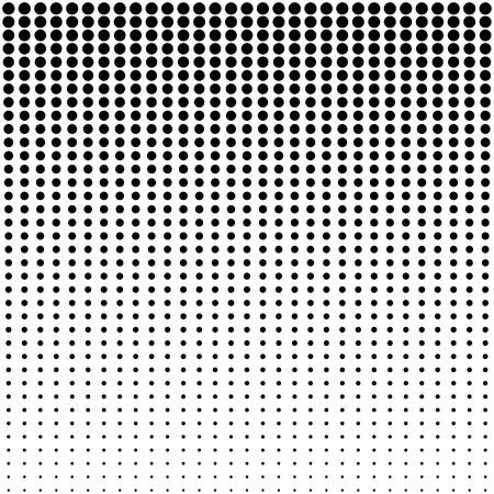 halftone dots background Illustration