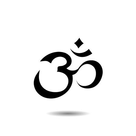 Om Aum Symbol Illustration
