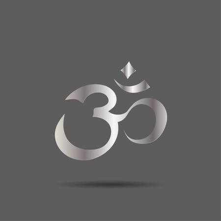 aum: Om Aum Symbol Illustration