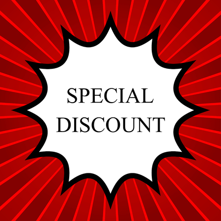 join our team: Comic book explosion with text Special Discount
