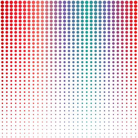 dots background: Halftone dots background