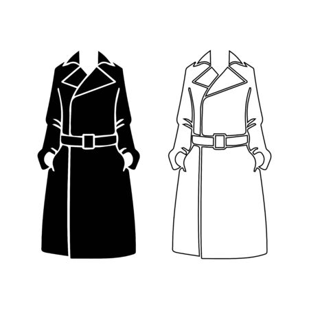 the trench: Coat