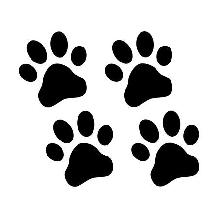huellas de perro: Patas Imprimir