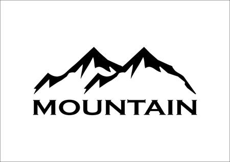 mountain silhouette: Mountain Symbol