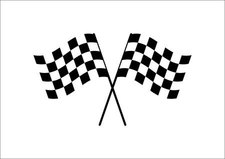 bandera blanca: Bandera de la Cruz Vectores
