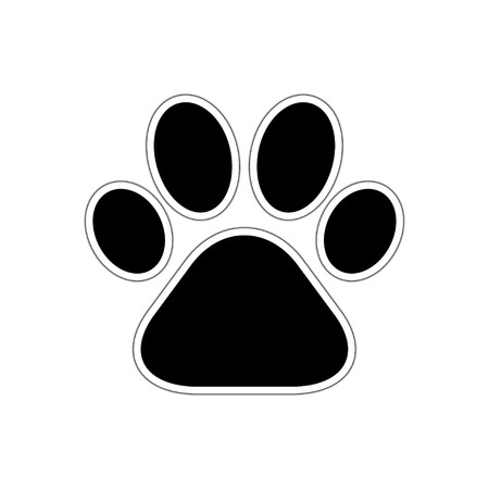 huellas de perro: Paw imprimir