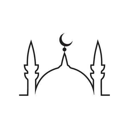 dome: mosque Illustration