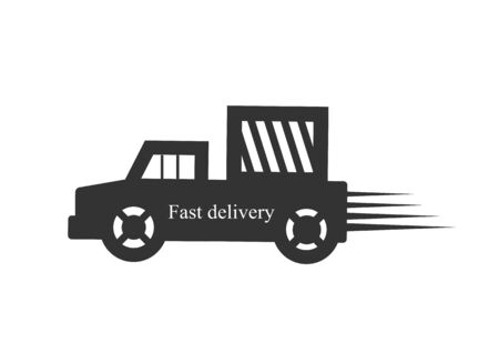 delivery truck: Fast Delivery Truck