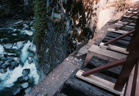 rapids: Bridge Over Rapids