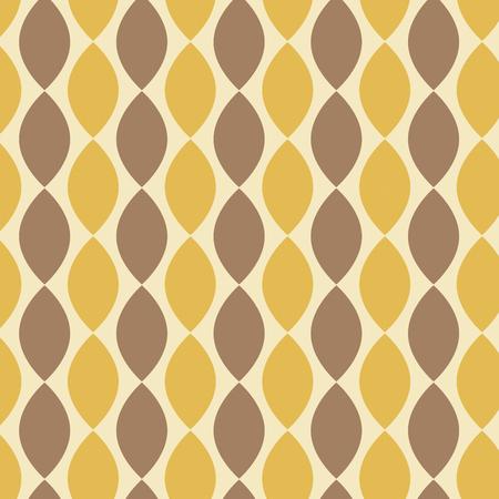 Seamless abstract floral pattern, mandala pattern. 矢量图像